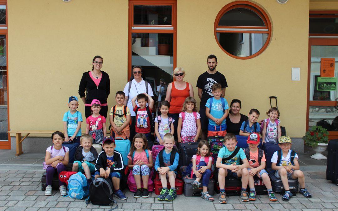 Letovanje bodočih šolarjev na Bled