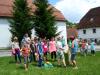 Srečanje družin katoliških vrtcev v Stični